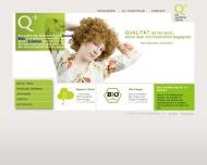 Bild Webseite hautnah Modevertriebs Aachen