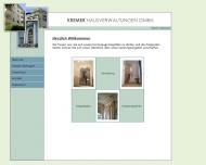 Bild Webseite Kremer Hausverwaltung Berlin