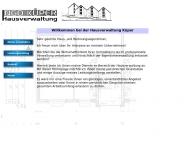 Immobilien Und Verwaltungen Haus Und Grundstcksservice
