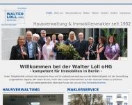 Immobilienmakler und Hausverwalter in Berlin Charlottenburg - Walter Loll oHG