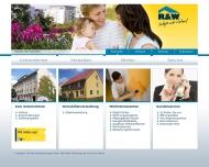 Bild Webseite R & W Immobilienanlagen Berlin
