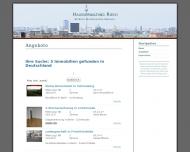 Bild Webseite Hausverwaltung Hans-Joachim Riech Hausverwaltung Berlin