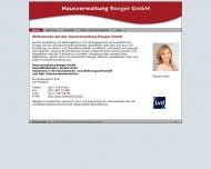 Bild Webseite Renger Kerstin Hausverwaltung Berlin