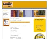 Website Lindner Weru Bauelementeges.mbH
