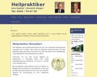 Bild Webseite Baldauf Hans Heilpraktiker Düsseldorf