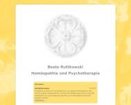 Bild Webseite Ruttkowski Beate Heilpraktikerin Düsseldorf