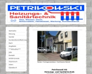 Bild Petrikowski KG Heizungs- & Sanitärbau Heizungsbau Sanitärbau Kundendienst