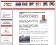Website Sicherheitstüren u. Fenster Jäger,