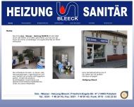 Website Wolfgang Bleeck
