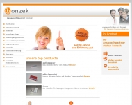 Bonzek GmbH - Bonzek GmbH - Namensschilder mit Format