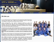 Bild Webseite EPP u. WIEBE Postfeld