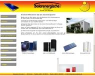 Bild Webseite SOLARENERGISCHE Postfeld