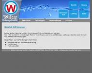 Bild Webseite Weber Heizung Sanitär Giengen an der Brenz
