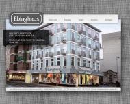 Bild Webseite Ebinghaus Ralph Herrenausstatter Köln