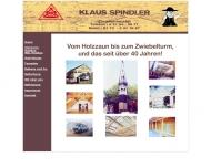 Bild Spindler Klaus Zimmermeister und Holzbau