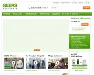 Bild Webseite GEERS Hörgeräte Hamburg