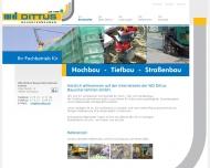 Bild Dittus WD Bauunternehmen GmbH