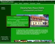 Bild Webseite Deutsches Haus Inh. Corina Heiland Tangerhütte