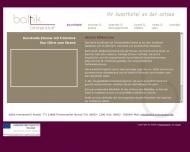 Bild Webseite  Timmendorfer Strand