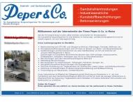 Bild Peper & Co. GmbH Sandstrahlarbeiten