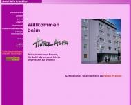 Bild Webseite Hotel Alfa Frankfurt