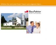Bild Webseite BauFaktor Düsseldorf