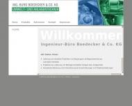 Bild Webseite Boedecker Renate Immobilien Dresden