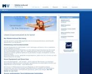Website MV Maklerverbund Nürnberg