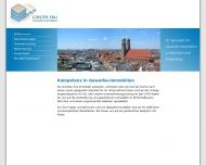 Bild Webseite Ebli Günter Gewerbeimmobilien München
