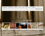Bild Webseite Delius München