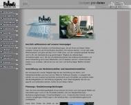 Bild Webseite Franke Hausverwaltung Dresden