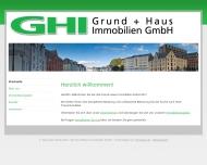 Bild GHI Grund u. Haus Immobilien GmbH Immobilienbauträger