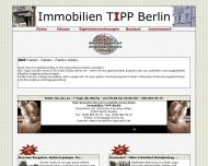 Bild Webseite Frieden Immobilien Berlin