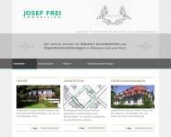 Bild Webseite Josef Frei München