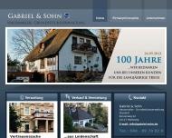 Bild Webseite Gabriel & Sohn Hausmakler Hamburg
