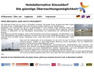 Bild Webseite SAR-LAND Düsseldorf