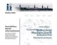Bild Webseite Immo-Info Immobilien-Marktinformation Hamburg