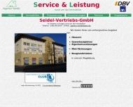 Website Seidel Vertriebs