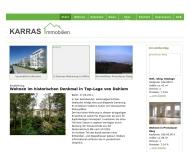 Bild Webseite Karras Barbara Immobilien und Versicherungen Berlin