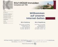 Bild Webseite Rolf Krüger Magdeburg