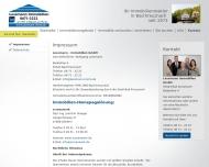 Website Lessmann Immobilien C. + M. Sutter