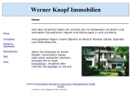 Bild Webseite Knopf Werner Immobilien Berlin