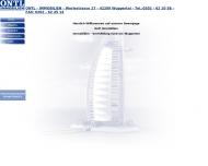 Bild Webseite Ontl Immob. Helmut Immobilien Wuppertal