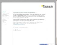 Bild Webseite Rheingans Immobilien München