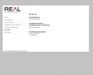 Website Real Finanzierungsvermittlung