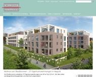 Bild Webseite Schweizer Immob. Heilbronn