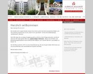 Bild Webseite Albrecht Schlange Immobilien Hamburg