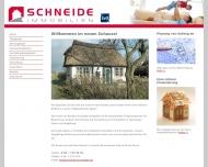 Bild Webseite Schneide Norbert Immobilien Immobilienagentur Hamburg