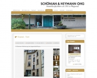 Website Schönian & Heymann