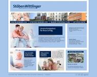 Bild Webseite Stöben Wittlinger Hamburg